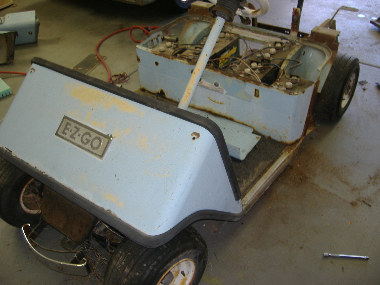 Cushman Electric Cart Troubleshootingwiring Problem Golf Vintage Ezgo Wiring Diagrams Gas Diagram For Batteries Automotive