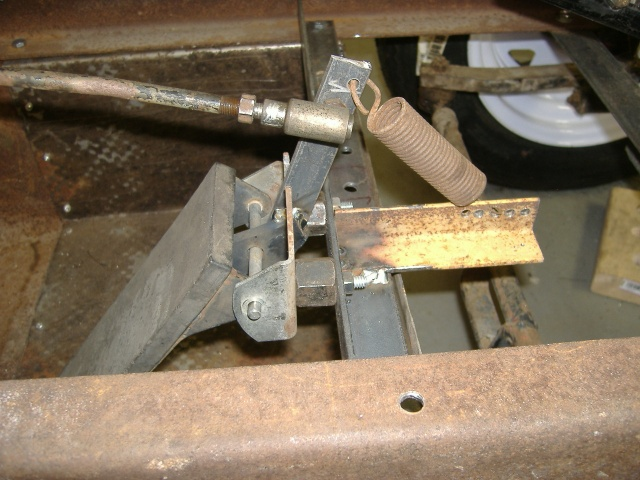 Midget gas pedal