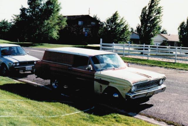 1960-1965 Falcon Delivery