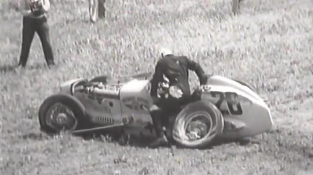 Race Car Crash: Vintage Auto Racing Crash Video (Warning: Graphic