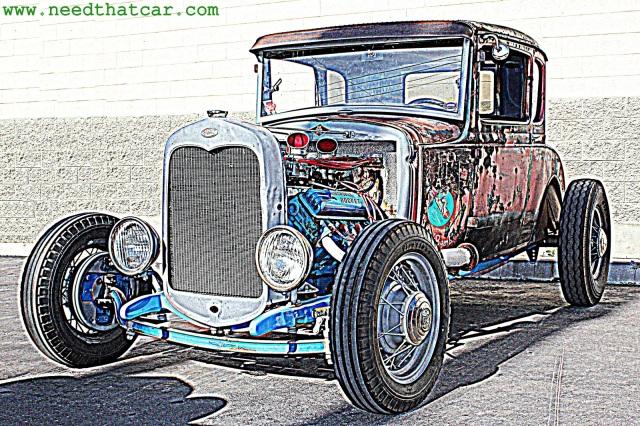 1931 Model A Wallpaper